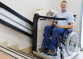 wheelchair stair lift. Commercial And Residential Wheelchair Lifts For ADA Accessibility Increased Mobility. Professional Installation Safety Security. Stair Lift