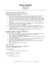 Montessori Teacher Resume Teacher Resume Cover Letter Special