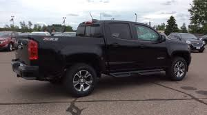 2017 Chevrolet Colorado Crew Cab Black Z71 (H17140) - YouTube