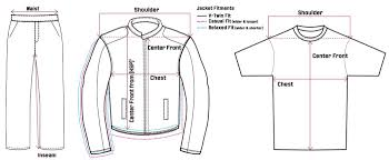 Ordering Apparel Choosing A Size Indian Motorcycle