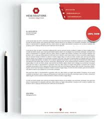 Letterhead Templates Design Company Letterhead Samples Company Letterhead Sample Design Word