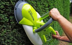 garden groom midi electric hedge trimmer