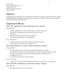 Resume Objective Administrative Assistant Best of Best Best Administrative Assistant Resume Templates Samples Click