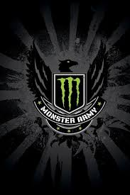 monster army logo iphone 4s wallpaper iphone wallpapers 640x960