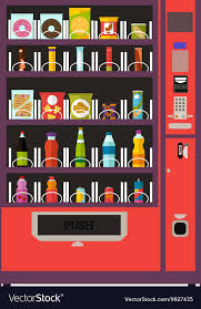 How To Get Free Stuff From A Vending Machine Impressive Vending Machine Product Items Set Royalty Free Vector Image