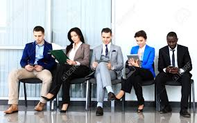 job interview preparation an essential checklist joel nanauka 30447446 business people waiting for job interview five