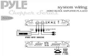 pyle pla1200 on the road vehicle amplifiers Basic Electrical Wiring Diagrams system wiring diagram view larger