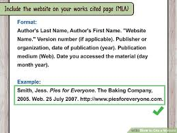 Quotes Website Extraordinary How To Quote A Website Custom How To Cite A Website With Sample