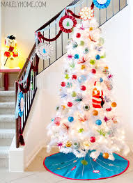 Decorating a white Christmas tree can be both easy and tricky. While you  can pretty much put different colors on it since it's plain white,  arranging them ...