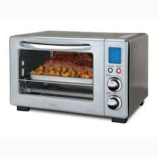oster 6 slice digital countertop oven with convection stainless steel canada