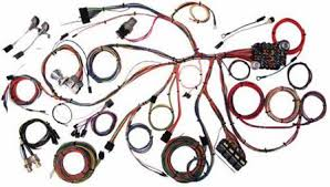 67 68 mustang complete chassis wire harness kit classic update series american auto wire 67 68 mustang complete chassis wire harness kit classic update