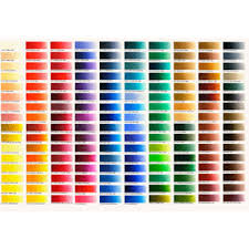 Colour Chart Old Holland Classic Oil Paint Printed Colour Chart