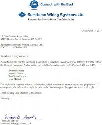 DA5501 COMPUTER, MULTIPLEX NETWORK BODY Cover Letter FCC Request ...