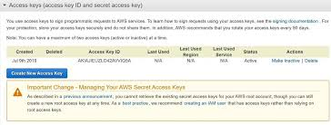 Access Key How To Create An Access Key For The Root User In Aws