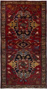 hamadan dark red wool rug hand knotted persian rug