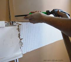 what are mobile home wall strips and how to remove them