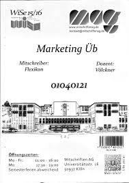 übung Mag 01124 Marketing Studocu