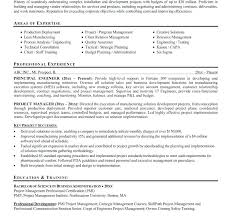 Engineering Project Manager Resume Sample Construction Project