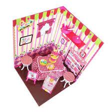 Details About 1 6 Bjd Diy Miniature Dollhouse Assembled Kit Princess Dessert Shop Model