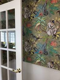 Cole Sons Savuti Wallpaper House Renovation 2017 18 In 2019