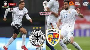 🔴LIVE เชียร์สด : เยอรมัน พบ โรมาเนีย | ฟุตบอลโลก รอบคัดเลือก โซนยุโรป -  YouTube