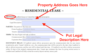 Illinois standard sublease agreement pdf. Residential Lease Agreement Free Template Instructions