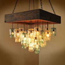 Inspirational Photos Of Mason Jar Chandelier for Sale