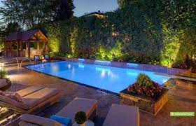 landscape lighting ideas around pool and outdoor cool nrd homes gallery with images