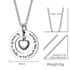 stainless steel pendant custom made 25mm stainless steel heart shaped pendant brand fashion jewelry