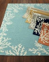 quick look c reef indoor outdoor rug 5x7 rugs