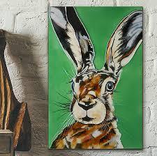 mad hare decorative ceramic picture