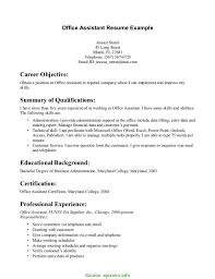Valuable Office Manager Resume With No Experience Medical Office