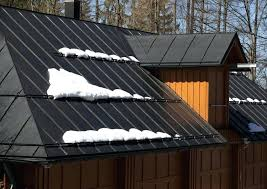 corrugated metal half wall metal roofing is great in snow country because it is fire resistant corrugated metal half wall