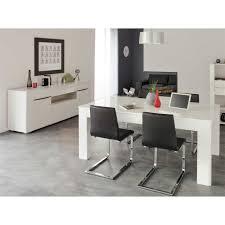 Esszimmermöbel Set Lontrain in Weiß Hochglanz   Wohnen.de