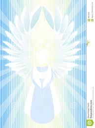 Holy Light Art Angel Abstract Light Stock Illustration Illustration Of