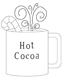 Small Picture Hot Chocolate Coloring Page Free Download Inside diaetme