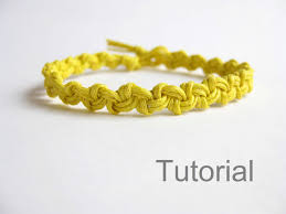 Macrame Bracelet Patterns Extraordinary Macrame Bracelet Pattern Tutorial Pdf Easy Yellow Knotonlyknots