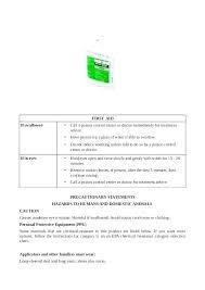 Spray Chemical Compatibility Chart Acclaim Herbicide Chemical Compatibility Chart Acclaim
