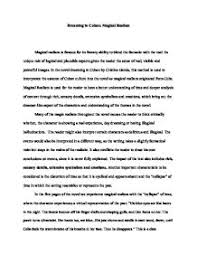 magical realism in the novel dreaming in n by cristina  page 1 zoom in