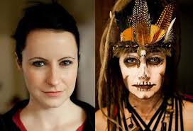 how to apply make up for witch doctor costume google search