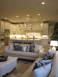 Small Picture What you think abut this open plan kitchen living room design