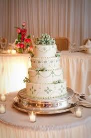 Wedding Cake Modern Buttercream Simple Elegant Sage Gr