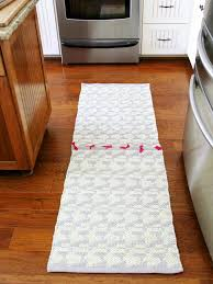 Kitchen Floor Mats Runners How To Make A Runner Rug From Two Rugs How Tos Diy
