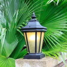 Landscape Pillar Lighting Amazon Com Xajgw Outdoor Waterproof Pillar Light Landscape
