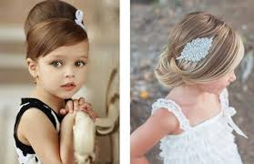 Coiffure Mariage Bebe Fille Maquillage Mariage