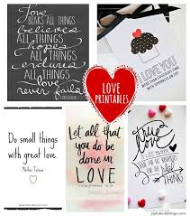 Free Love Quotes Delectable Five Free Printable Love Quotes JOYFUL Scribblings