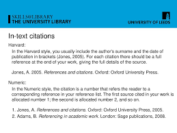 References And Citations Explained Ppt Download