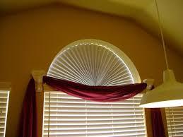 Window Blinds  Semi Circular Window Blinds Before 2 Round Semi Semi Circle Window Blinds