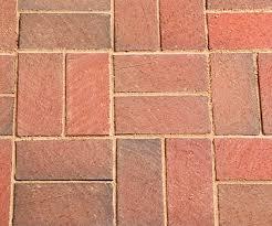 Basket weave brick formation