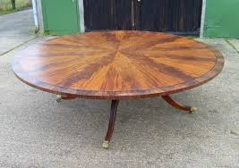 large antique round dining table huge round regency mahogany dining table to seat 14 to 16 people